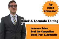 Package: Quick & Accurate Listing Editing & Proofread - SALE Price!