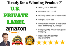 Package: 1 Winning Product Package : High Demand, Low Reviews+GIFT