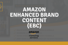Package: Branded A+ Content EBC Optimization Including Graphics