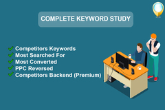 Package: Extensive Amazon Listing keyword study with premium tools
