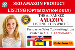 Package: Custom Offer for Amanda - EBC/A+ Content Only (6 Listings)