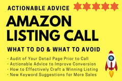 Package: Amazon Listing Optimization Strategy Call