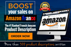 Package: French TOP SELLING unique and catchy Amazon listing