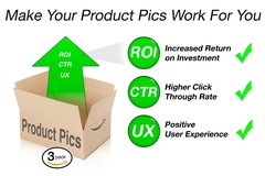 Package: 3-Pack Product Pic Creation & Consultation