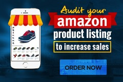 Package: We Will Audit Your Amazon Product Listing To Increase Sales