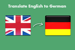 Package: Translating English to German Listing for Non German Seller