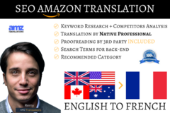 Package: Listing Translation & SEO - ENGLISH TO FRENCH