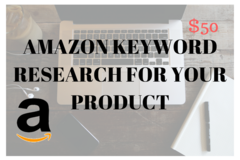 Package: Full Keyword Research For Your Amazon Product