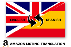 Package: Translate Your English Listing To Spanish + Optimized Review