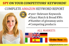 Package: PPC Keywords Report - SPY on your competitors' keywords!