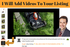 Package: I WILL ADD A VIDEO TO YOUR AMAZON LISTING - It really works!