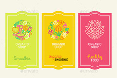 Package: i will design labels for your product in 3 sizes