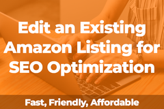 Package: Edit an Existing Amazon Listing for SEO Optimization