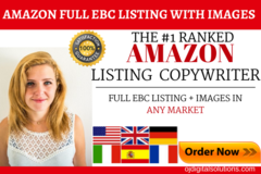 Package: Killer SEO Amazon EBC Listing, 300+ KWs & 7 Image Designs!