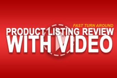 Package: Have Your Amazon listing Reviewed By An Expert With VIDEO