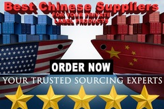 Package: We will find THE BEST  3 CHINESE SUPPLIERS for your product