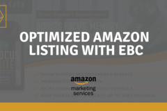 Package: Pro Amazon Listing - Optimized Copy | EBC | Keyword Research