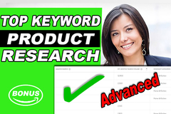 Package: Ultimate Amazon SEO Keyword Research & Title + FREE Bonus