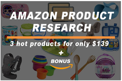 Package: Ultimate Product Research Package | Find 3 Products + Bonus