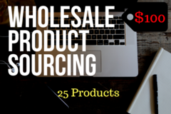 Package: 25 Product Sourcing For Wholesale FBA Reselling Business