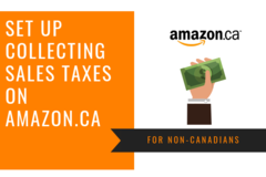 Package: Setup Non-Canadian Sellers to Collect Sales Tax on Amazon.ca