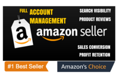 Package: Full Amazon Account Management for Sales Growth - $1M Seller