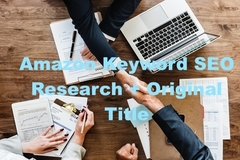 Package: Amazon Keyword SEO Research + Original Title