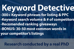 Package: KEYWORD Research by a PhD -> Competitor Keyword Analysis