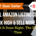 Package: Best Selling Optimized Listing w/ PPC Keywords & Research