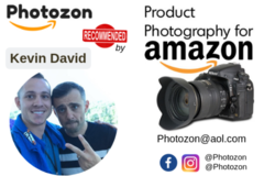 Package: Amazon Product Photography By Photozon (Premium Quality)