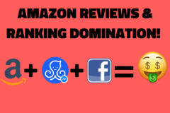 Package: Get Amazon Reviews + Ranking! 100% Done For You Service!