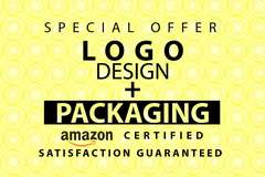 Package: AMAZON Specfic Packaging Design + Logo