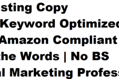 Package: Pro Listing Copy | Meta Keyword Optimized | AMZ Compliant