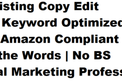 Package: SEO Copy Edit | Meta Keyword Optimized | Message Tuning