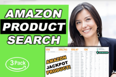Package: Best Product Research for Amazon FBA PRIVATE LABEL + Bonus