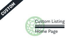 Package: CUSTOM PACKAGE - Home Page