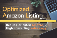 Package: Amazon SEO Listing - FULL PACKAGE  - 100% Ready For Launches