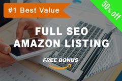 Package: Optimized Listing Copy & PPC Keywords + Free Bonus