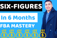 Package: Amazon FBA Mastery Course + Free Product Launch PDF Guide