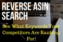 Package: Reverse ASIN Search on 5 Competitors Keywords