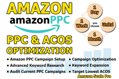 Package: I Will Setup, Manage & Optimize your Amazon PPC Ad Campaigns