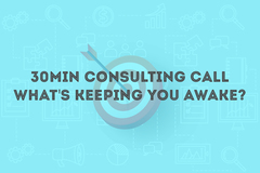 Package: 30min Consulting Call - What's keeping you awake?