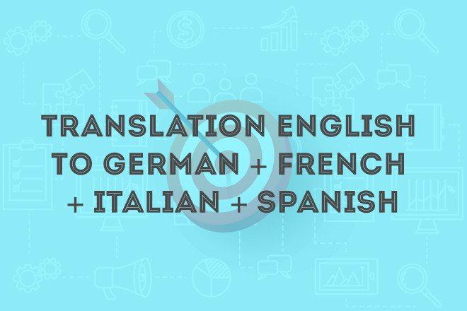 Translation English To German French Italian Spanish Jungle Scout Market