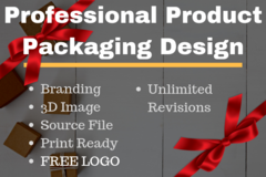 Package: ALL INCLUSIVE Product Packaging Design | BRANDING + LOGO
