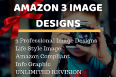 Package: 3 Epic Image Designs | Amazon Main/lifestyle images
