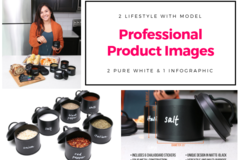 Package: 5+ Professional Images | Studio, Lifestyle, & Model