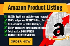 Package: 500 Words Optimized Amazon Product Listing  + PPC Keywords