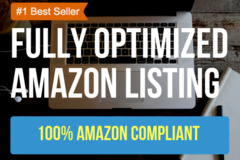 Package: Optimized Amazon Listing with Seller Central Upload For You