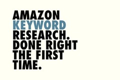 Package: Amazon Keyword Research | Free E-Book | Limited Discount