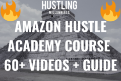 Package: Amazon Hustle Academy Course 60+ Videos + Full Mentorship